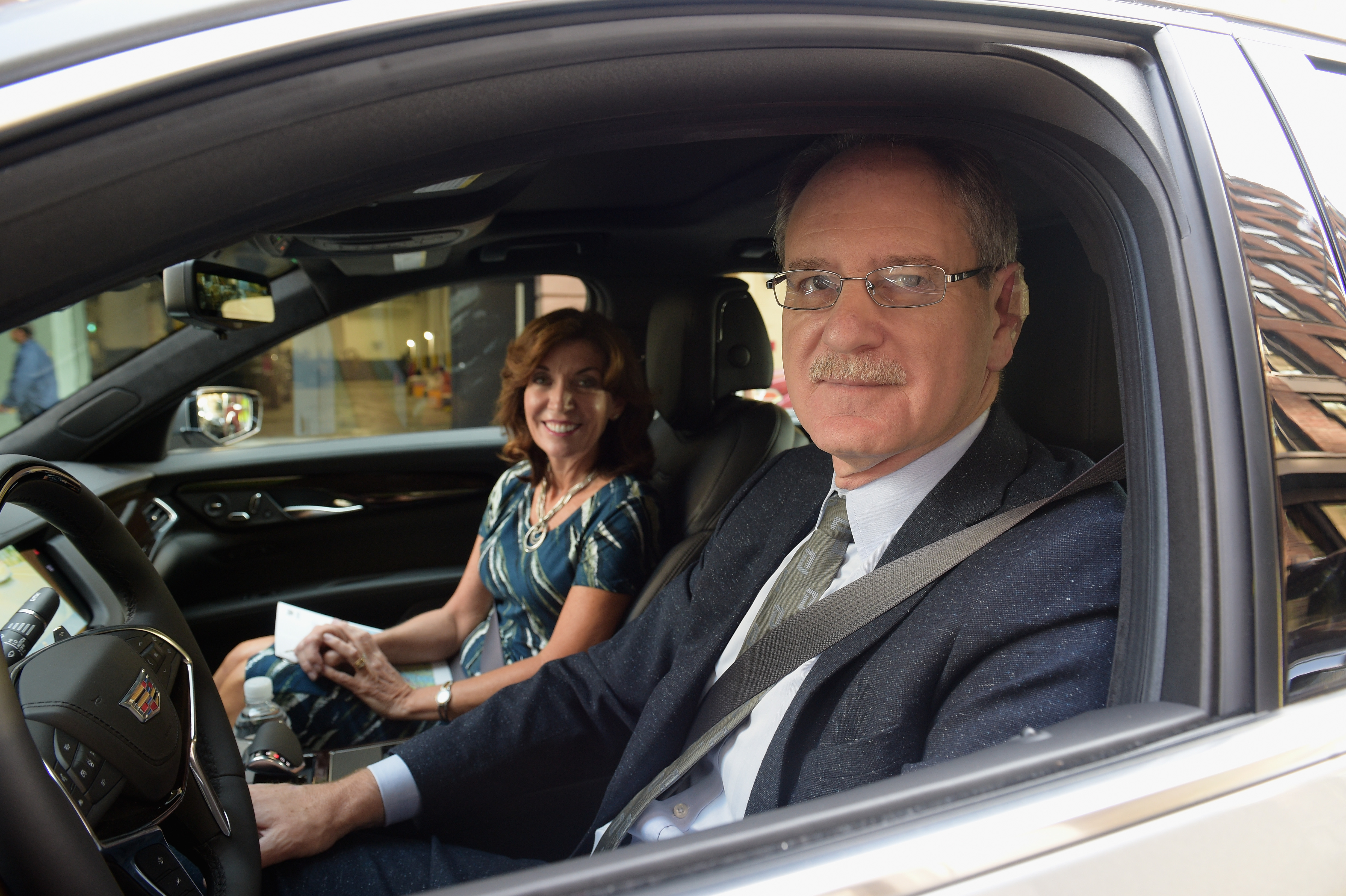 Cadillac Takes First CoasttoCoast Drive With Super Cruise Hands - Metroplex cadillac dealers