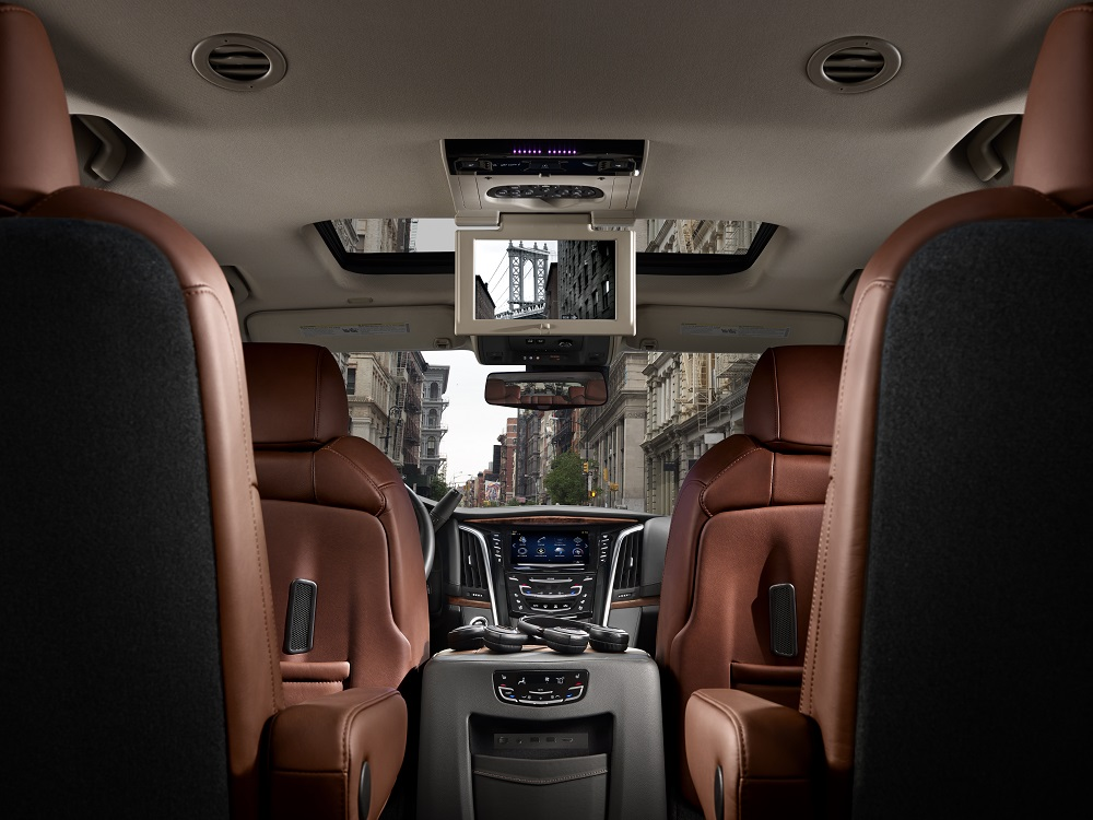 2017 Escalade Interior Design